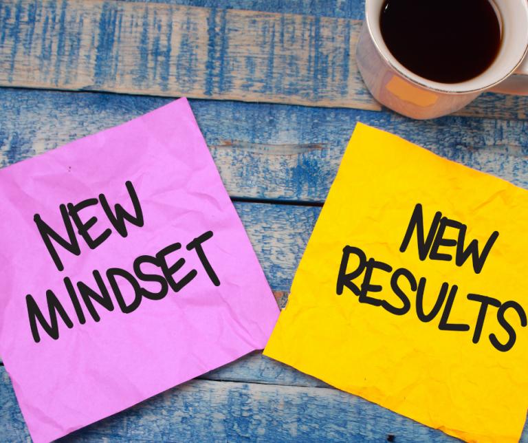 Positive mindset, positive result