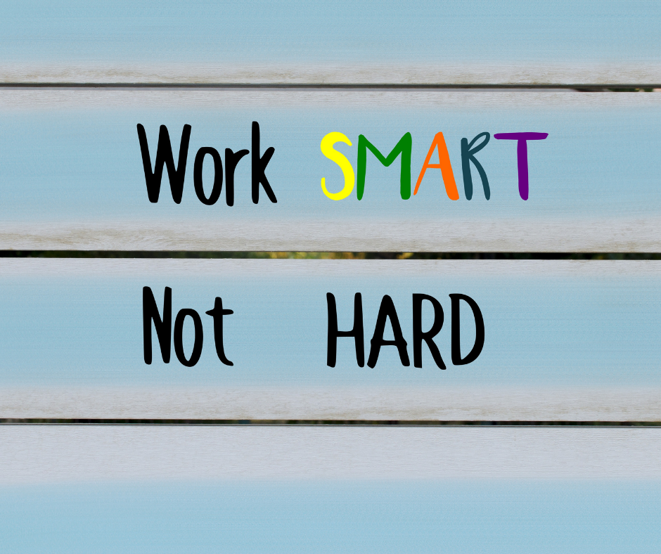 5 TIPS ON HOW TO WORK SMARTER RATHER THAN WORKING HARD